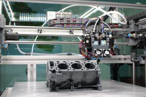 impression 3d métal moteur